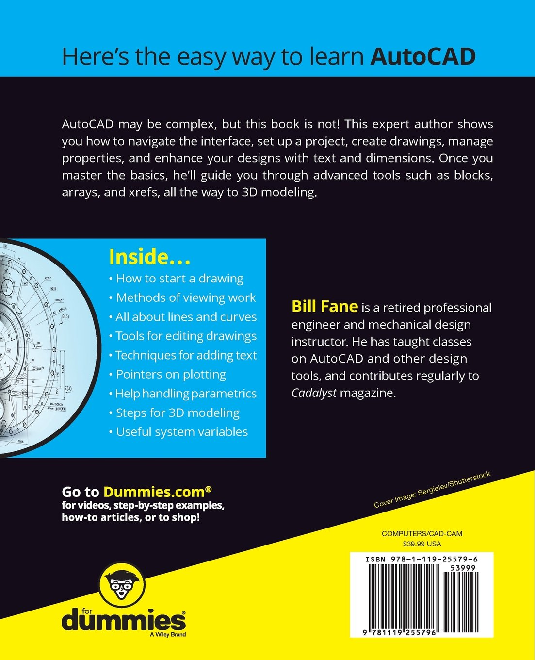 AutoCAD For Dummies, 17th Edition (For Dummies (Computers)): Amazon ...