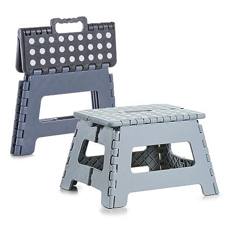 sort Kunststoff Gr/ö/ße in cm: 32x25x22 1x Zeller Klapphocker