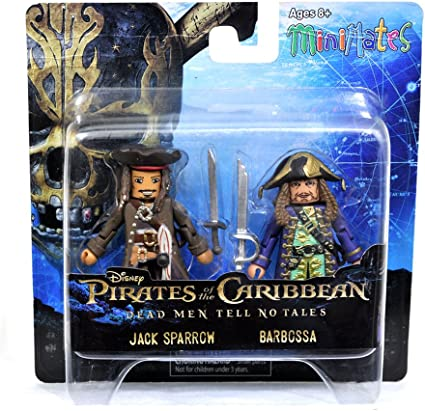 Pirates of the Caribbean Minimates Series 1 Jack Sparrow