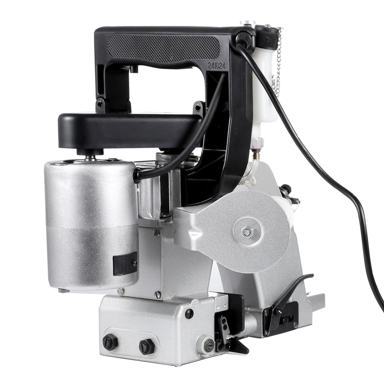 VEVOR Portable Bag Closer GK26-1A Bag Closer Sewing Machine 90W Electric Sewing Machine for Woven Snakeskin Bag Sack GK26-1A