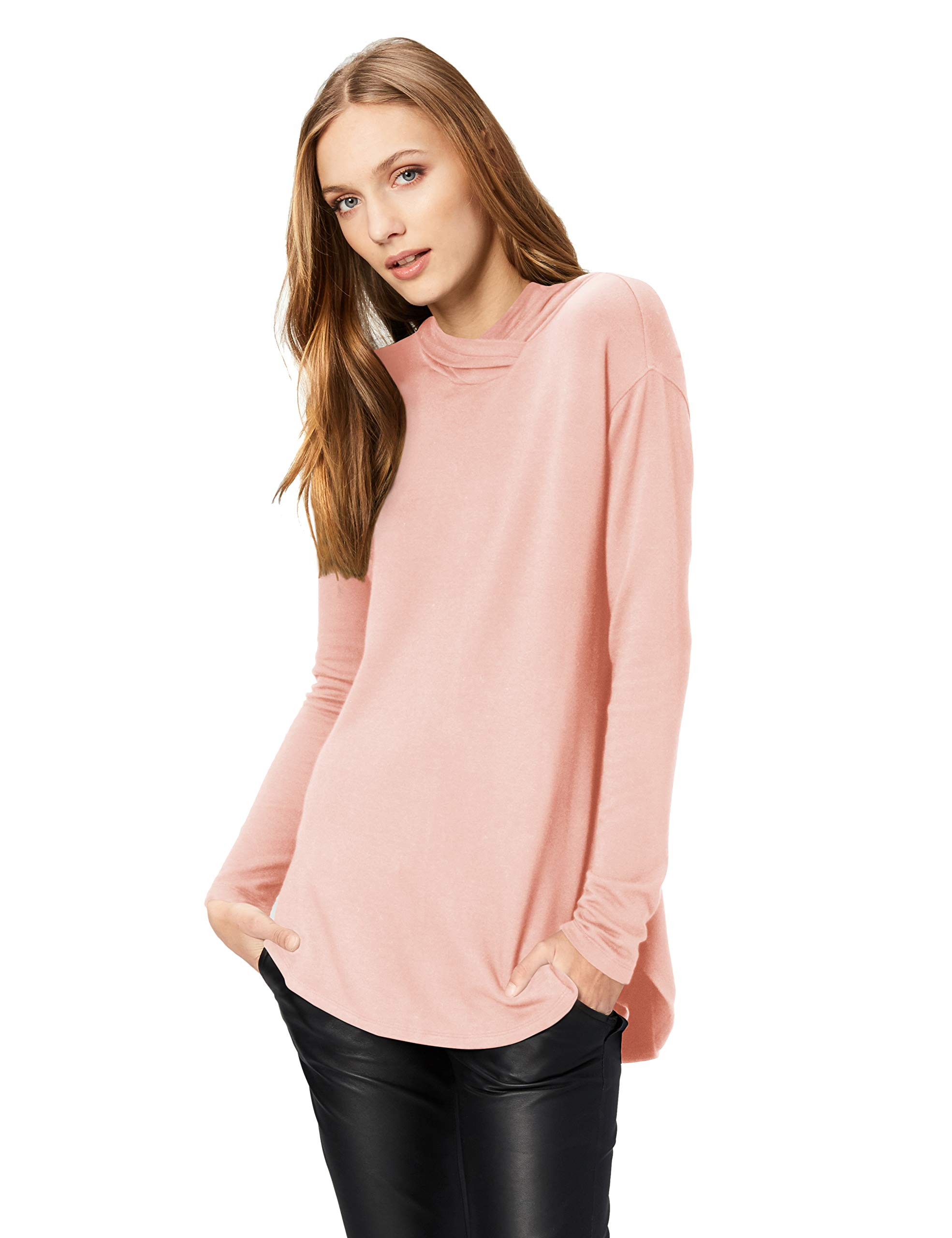 Amazon Brand – Daily Ritual Women's Supersoft Terry Long-Sleeve Hoodie Pullover