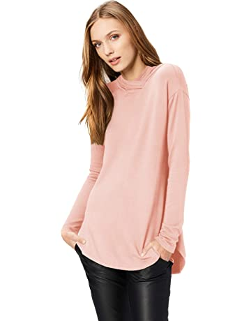ca167b215fa Daily Ritual Women's Supersoft Terry Long-Sleeve Hooded Pullover