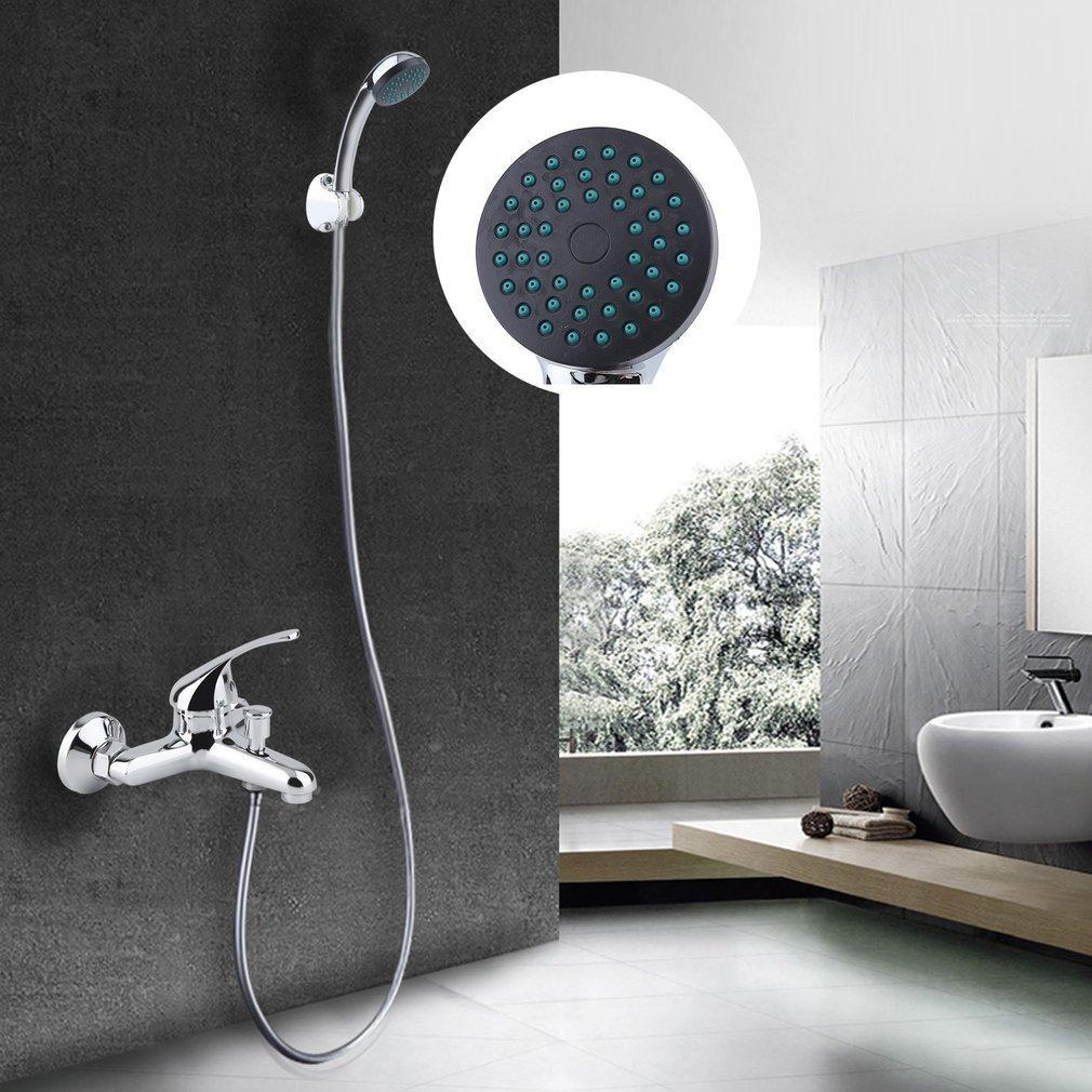 Einhebel Wannenarmatur Brausegarnitur Wassersparfunktion Badewannenarmatur Set