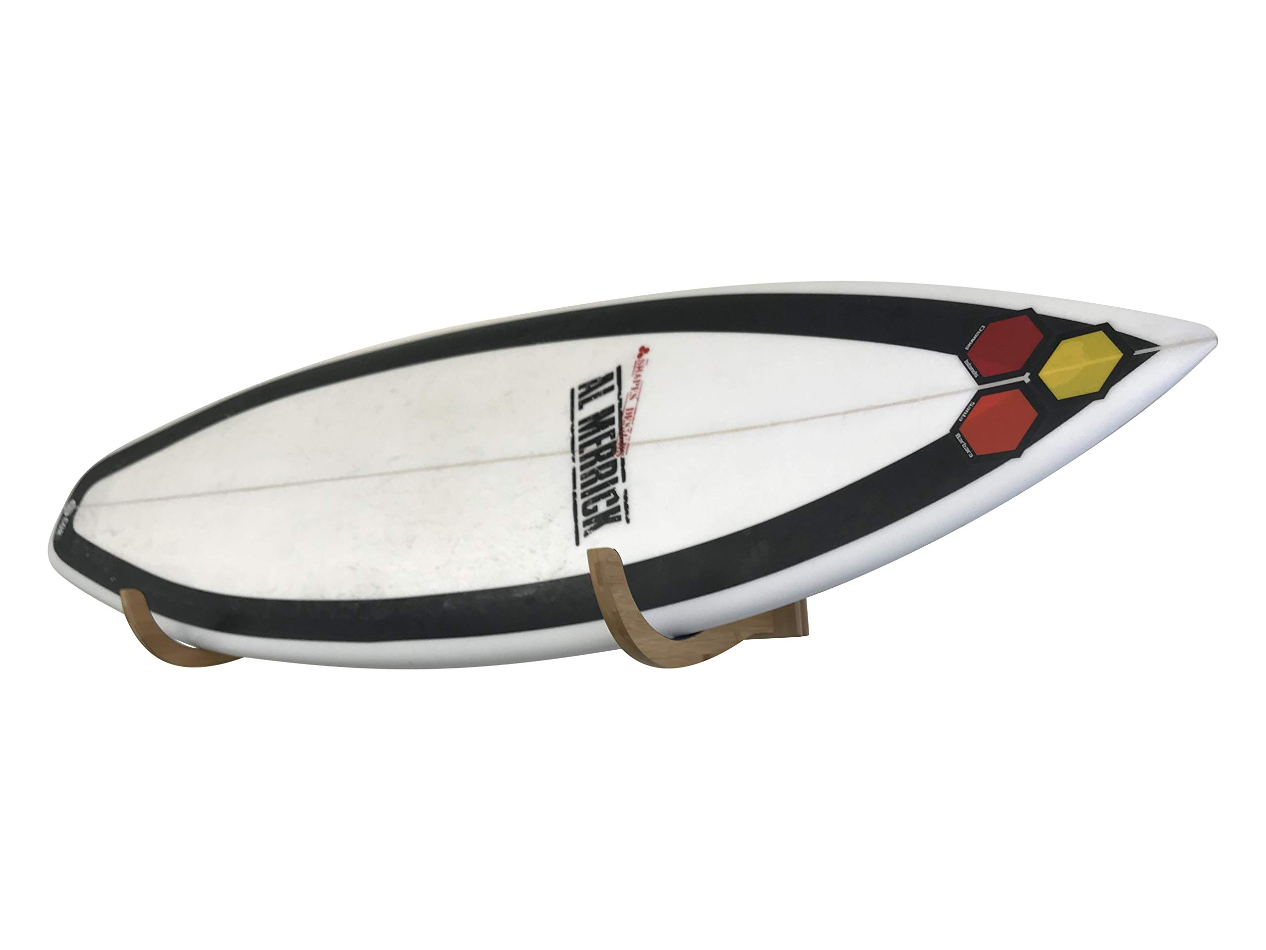 Cor Surf Bamboo Surfboard Wall Mount | The Original Single Surf Rack Now in Bamboo! by COR Surf