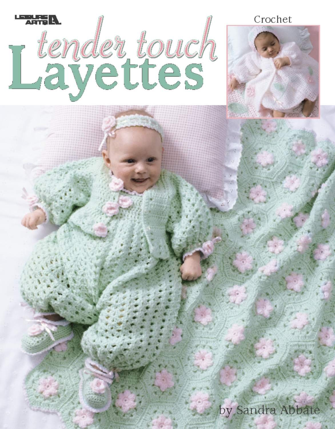 Tender Touch Layettes (Crochet) (Leisure Arts #3363) PDF