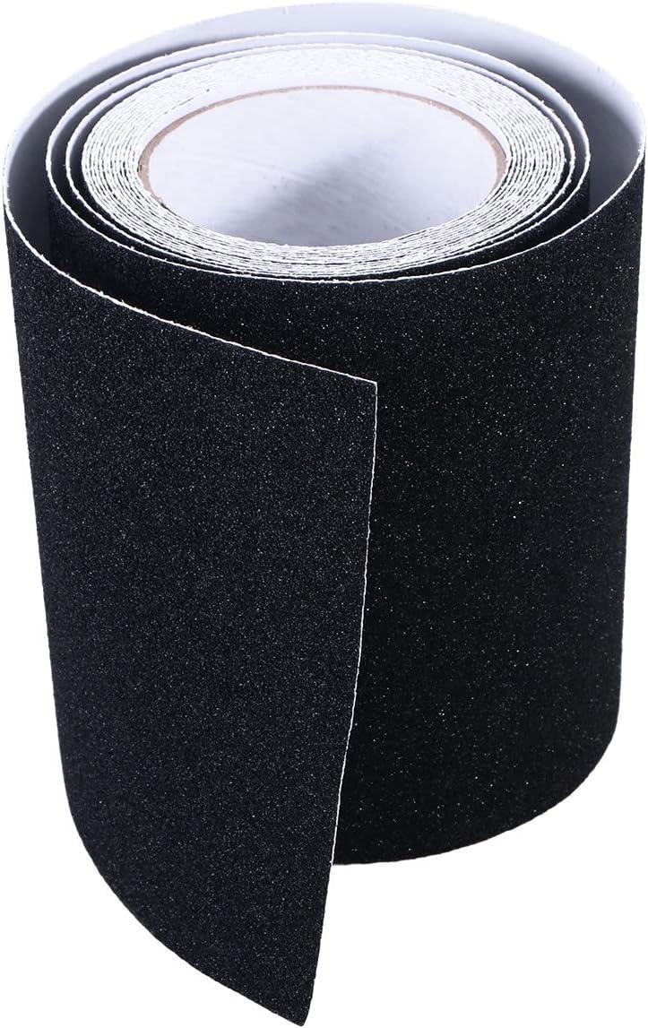Lucha contra la cinta antideslizante pegatinas escalera antideslizante banda de desgaste resistente superficie de la arena de la cinta no Plataforma antideslizante tiras for escalera piso baño auto ad: Amazon.es: Hogar