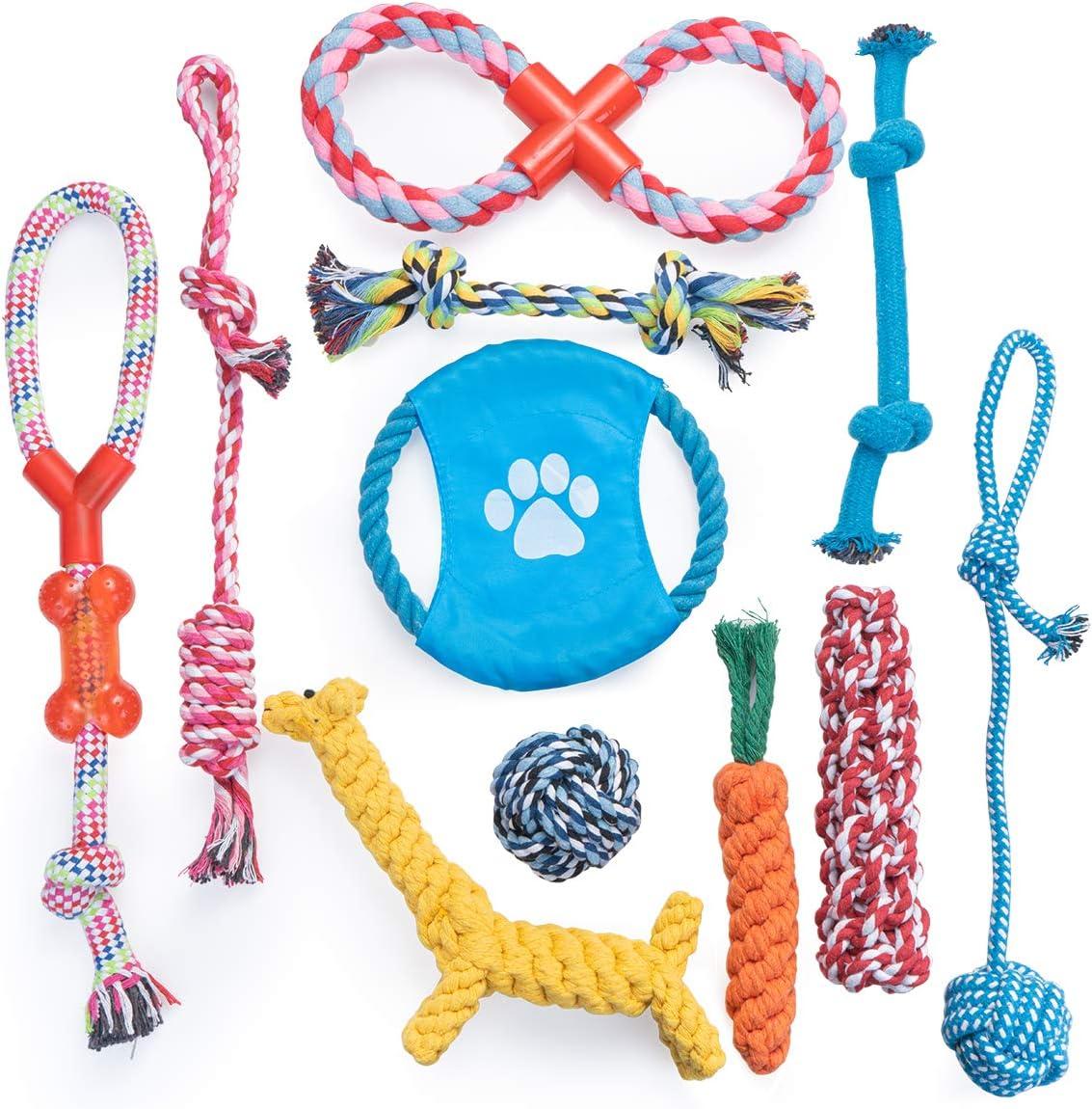 Dono Dog Rope Toys 11pcs 47% OFF £7.99 @ Amazon