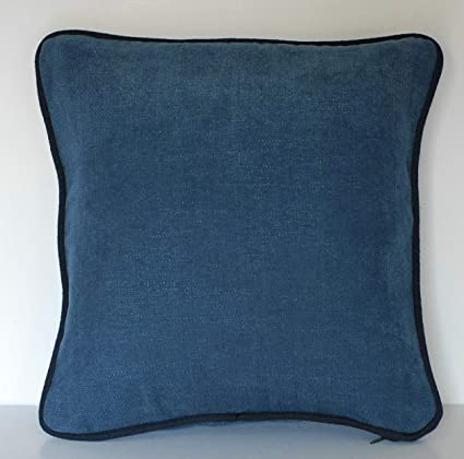 Cool Amazon Com Solid Blue Navy Throw Pillow For Sofa Or Couch Gmtry Best Dining Table And Chair Ideas Images Gmtryco