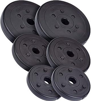 ScSPORTS - Discos para Mancuernas (18,5 kg): Amazon.es: Deportes y aire libre