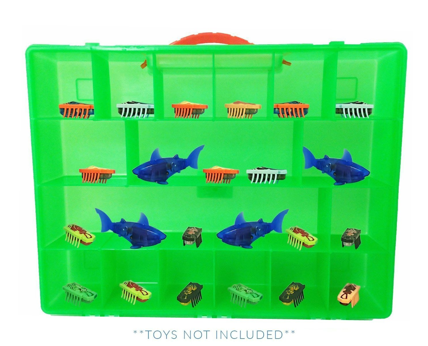 Life Made Better Hexbug Nano Case, Toy Storage Carrying Box. Figures Playset Organizer. Accessories Kids LMB LMB165