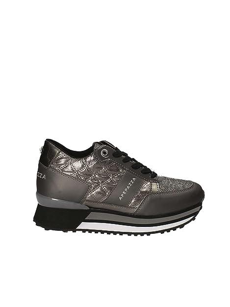 Apepazza RSD07 Matlasse sneaker stringata di colore grigio nuova collezione  autunno inverno 2017 2018 (40 5e30a032cb5