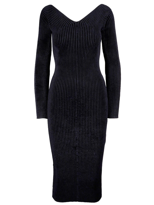Mrz Women's 00250303 bluee Viscose Dress