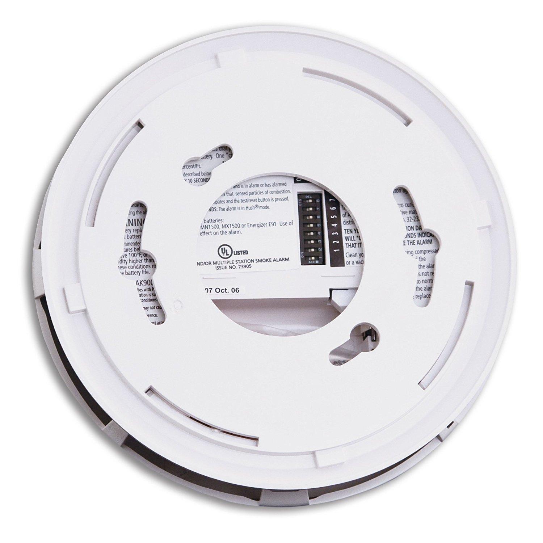 507e08d10ee2 Kidde 21026044 Wireless Interconnect Battery Operated Smoke Detector Alarm