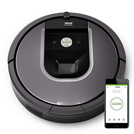 GG-vacuum cleaner Roomba 960 Robot De Limpieza Al Vacío - Gris