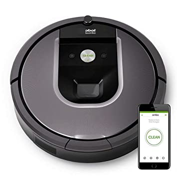 GG-vacuum cleaner Roomba 960 Robot De Limpieza Al Vacío - Gris: Amazon.es: Hogar