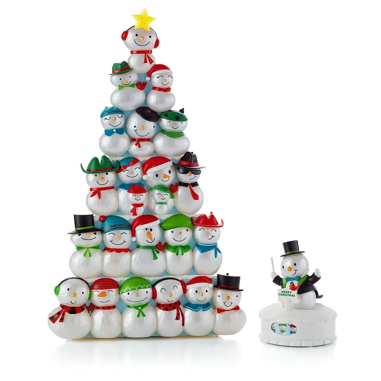 Amazon.com: Hallmark Interactive Musical Christmas Concert Snowmen ...