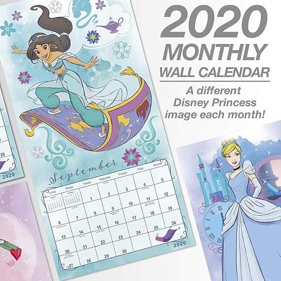 Calendario Fgi 2020.Calendario De Pared De Princesas Disney 2020 Ddd2892820