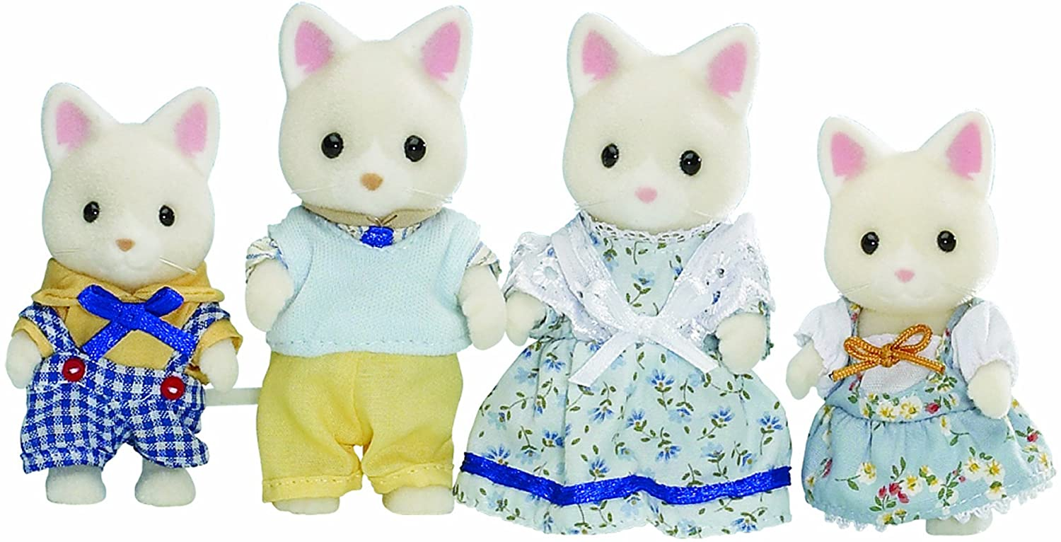 Flair Leisure Sylvanian Families - Familia de gatos: Amazon.es: Juguetes y juegos