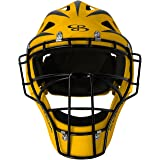 Boombah DEFCON 2.0 Rubberized Matte Hockey Style Baseball or Softball Catchers Helmet - Multiple Colors - Multiple Sizes