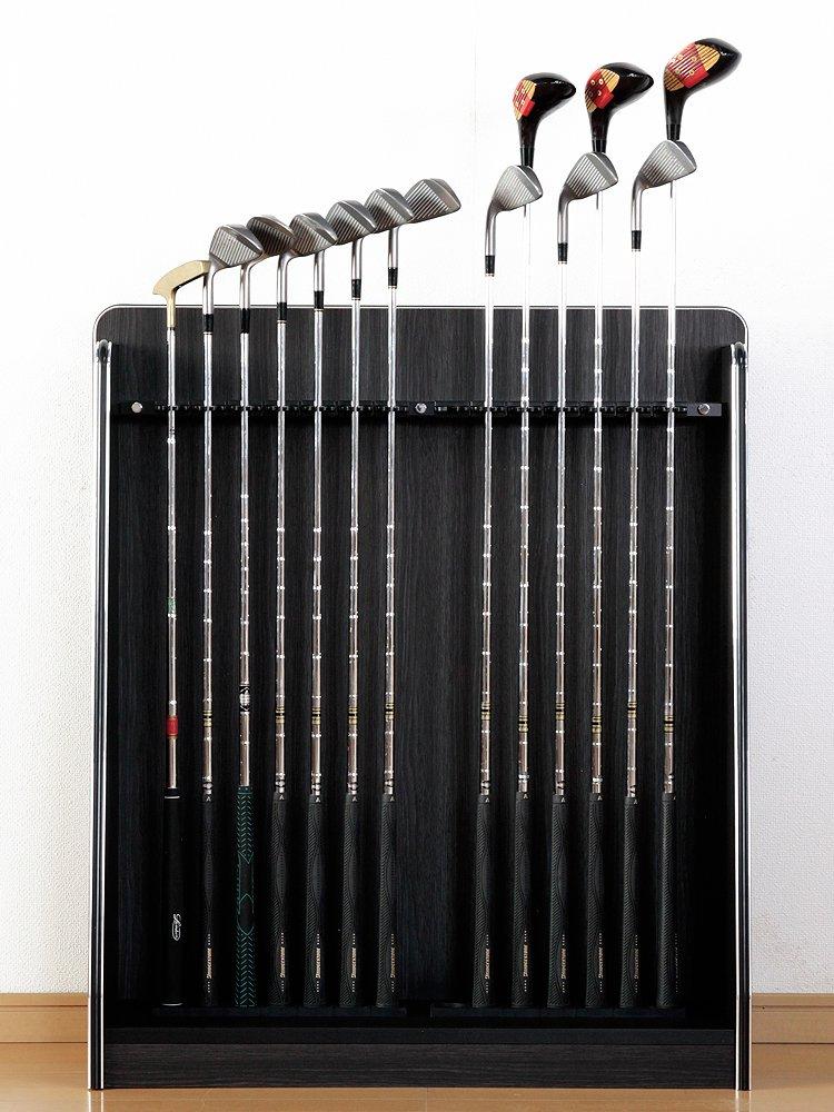 ゴルフクラブスタンド 14本収納タイプ ブラックウッド   B075V2QFVZ