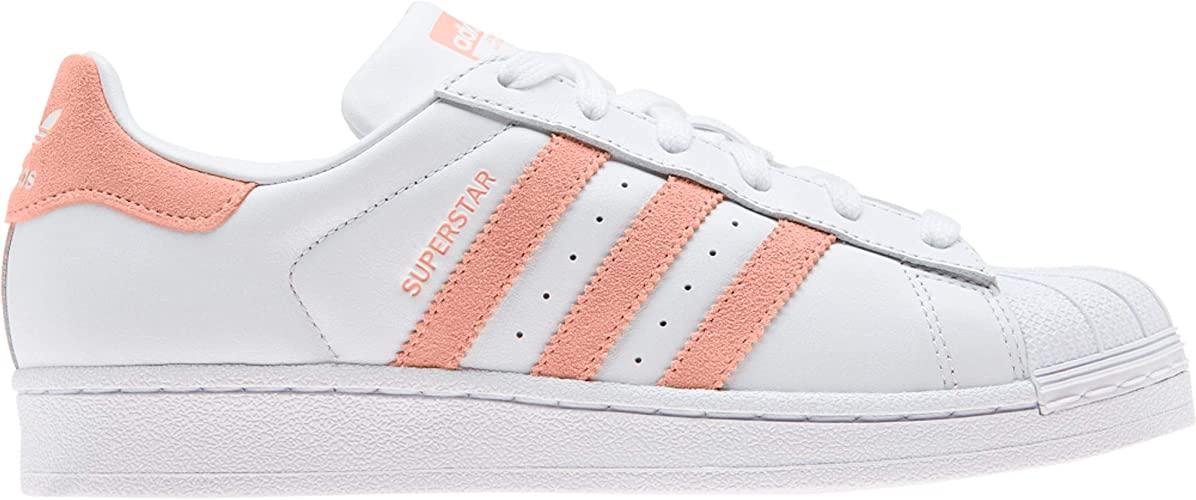 canción escaramuza medias  adidas Superstar W Shoes FTWR White/Glow Pink: Amazon.co.uk: Shoes & Bags