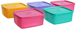 Tupperware Cool N Fresh Set, 5-Pieces,Color May Vary