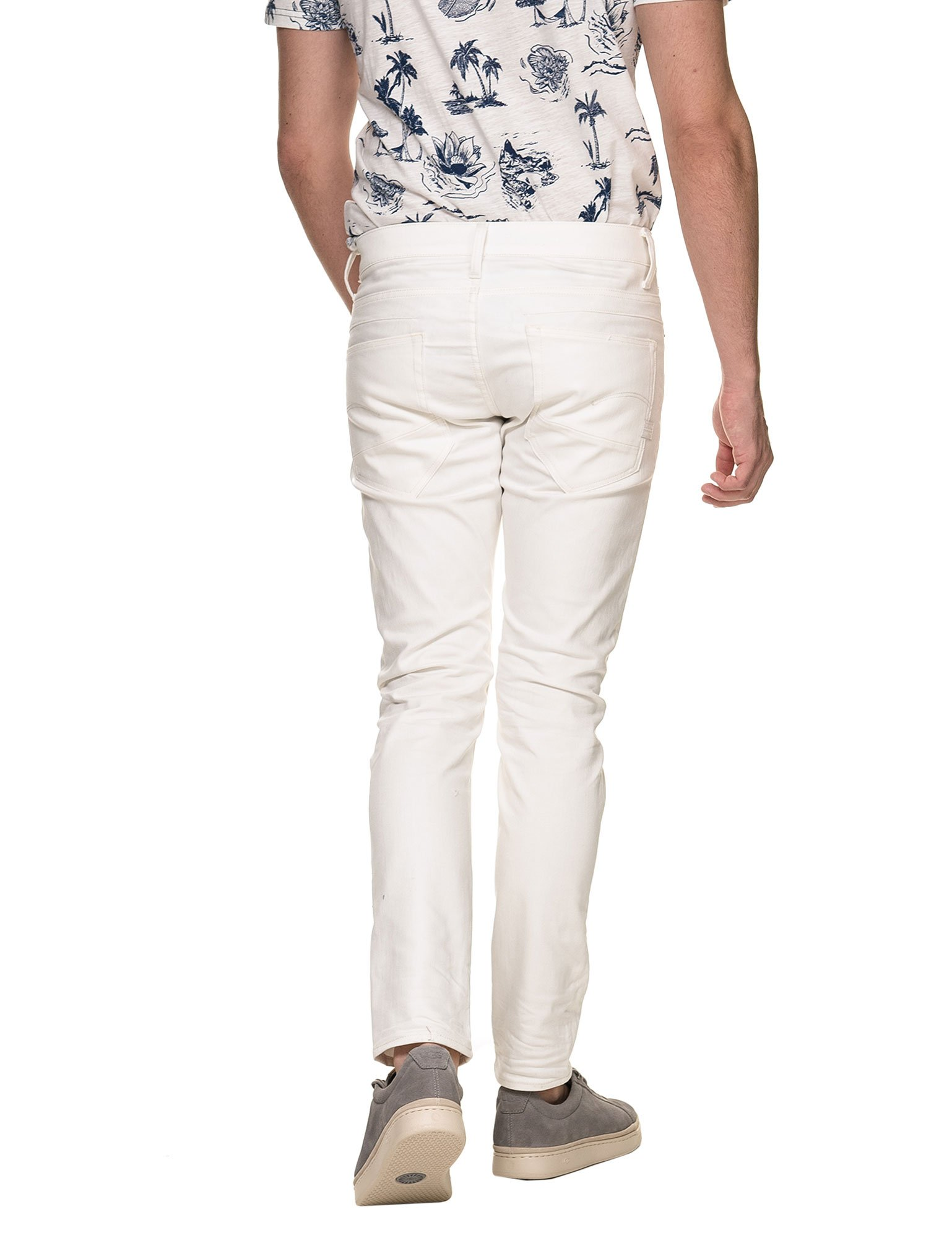G-STAR Men's D-STAQ 5-Pkt Slim Pants White in Size 30W 32L by G-STAR (Image #2)