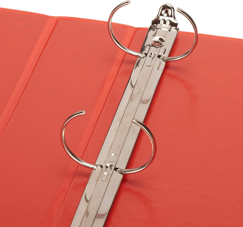 4-Pack View Basics 3 Round Ring Binder White