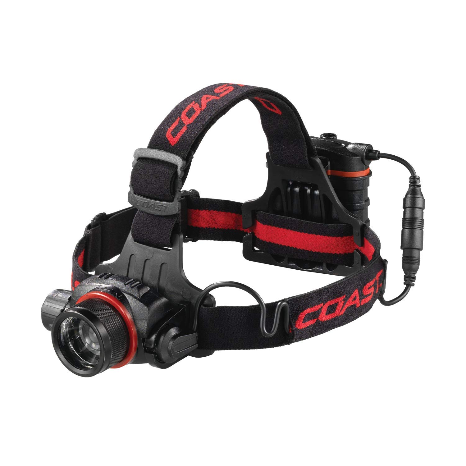 COAST HL8R 800 Lumen Rechargeable Pure Beam Focusing LED Headlamp by Coast