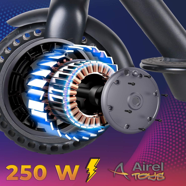 2 Velocidades 250W Motor Patinete Plegable 25 km//h y 18 km Windgoo Patinete El/éctrico Adultos Scooter El/éctrico Adulto con Ruedas de 8,5 Luces Traseras y Delanteras Pantalla LCD