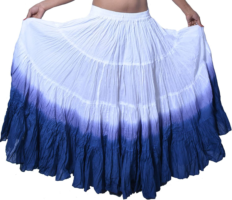 wevez Mujer ATS Tribal DIP DYE 25 Yard Falda: Amazon.es: Ropa y ...