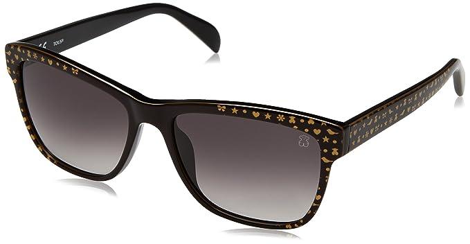 Tous STO908-5401FY, Gafas de Sol para Mujer, Black Crystal, 54