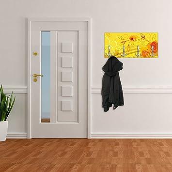 Appendiabiti con Design giallo con Rose sogno maniglia, attaccapanni ...