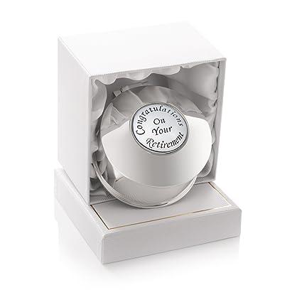 35c65f871 Regalos de Jubilación para Mujer Chapado en Plata joyero Pequeño Caja de Regalo  para Mujer en