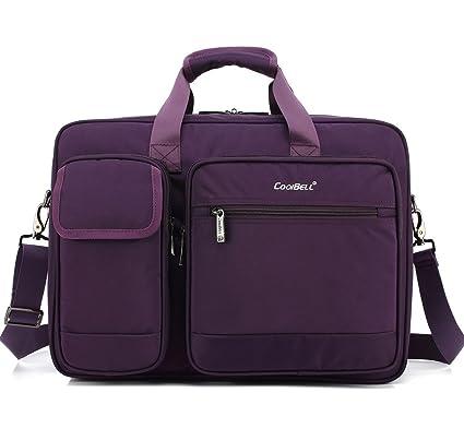 Super Modern 17 Pulgadas Bolsa de Ordenador portátil Bolsa Bandolera Bolsa Mango Bolsa Tablet maletín para