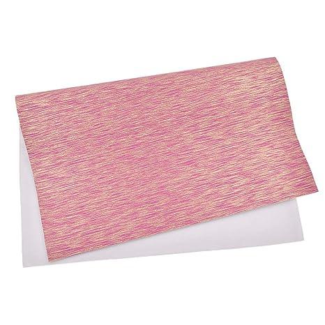 Chzimade - Lámina de tela sintética de corcho para hacer lazos en el pelo (tamaño A4)