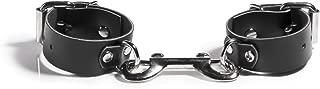 product image for Liberator Rani Leather Ankle Cuffs Handmade Playful Bondage Restraints, Black, 0.7 Pound