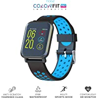 Noise ColorFit Pro Fitness Watch/Smartwatch/ FitnessBand | Bluetooth Smart Band with Detachable Strap | Wide Screen Waterproof | Sports and Activity Tracker | Camera and Music Control Features for Android and iOS Devices