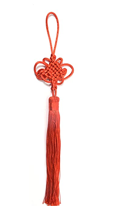 Amazon Feng Shui Red Chinese Knot Chain Enless Knot Mystic Knot