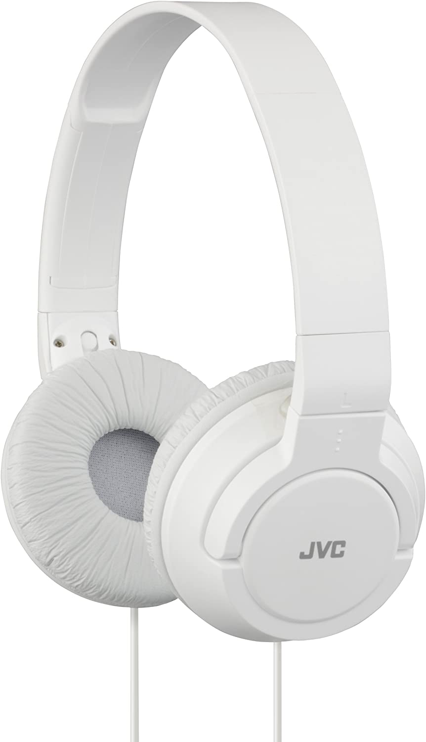 Auriculares plegables JVC HA-S180-W color blanco