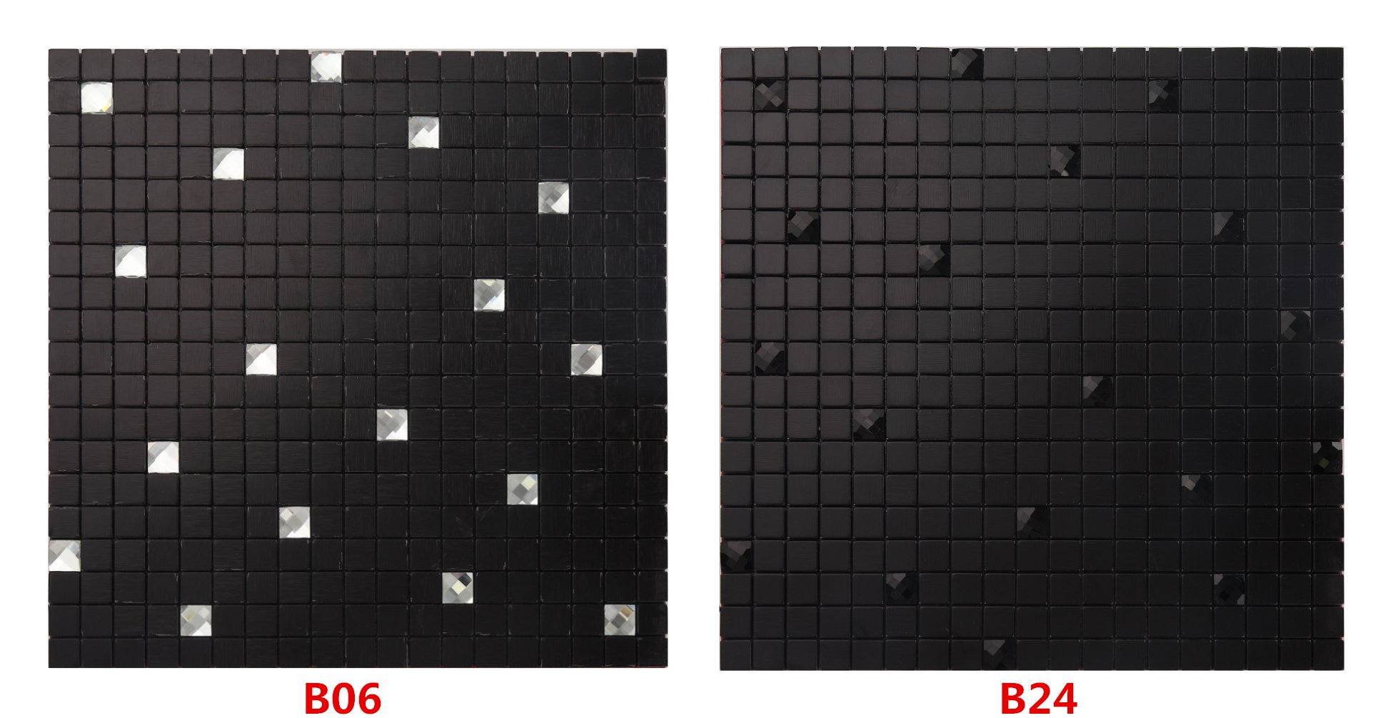 12''x12'' Peel and Stick Backsplah Tile Self Adhesive Mosaic Backsplash for Kitchen- B06 (5PCS 5.38Sq.ft)
