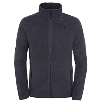 0bd353dec6 The North Face 100 Glacier Veste Homme, TNF Dark Grey Heather, FR (Taille