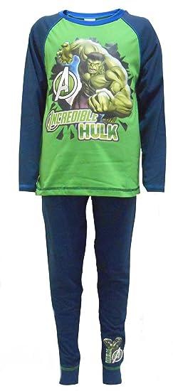 Hulk Avengers niños de algodón pijama de 9-10 años (140 cm): Amazon.es: Ropa y accesorios