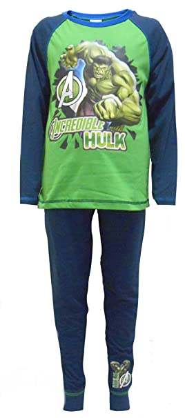 Hulk Avengers niños de algodón pijama de 9-10 años (140 cm)