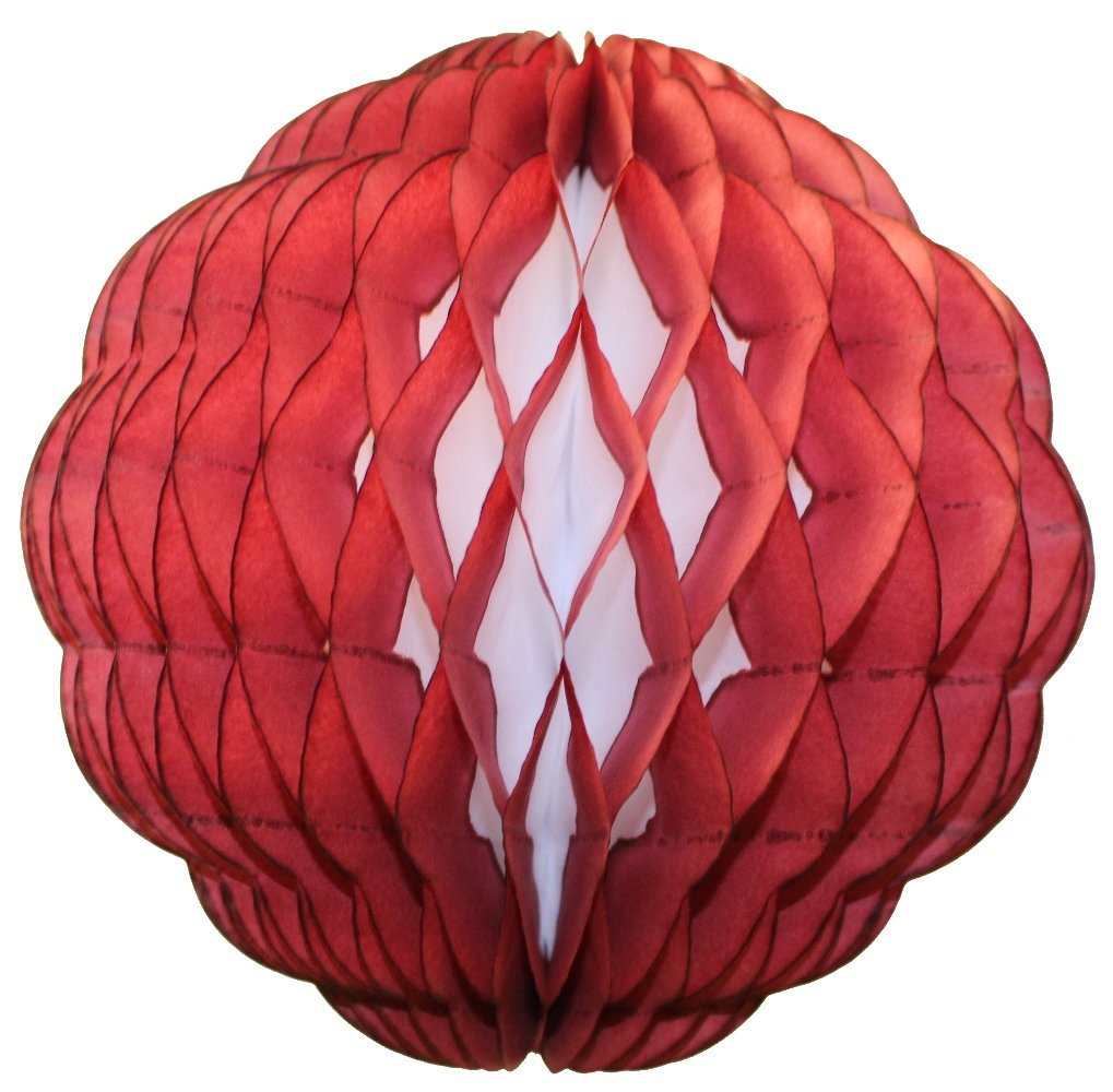Amazon.com: 3-pack 8 Inch Honeycomb Tissue Paper Puff Ball (Pink ...