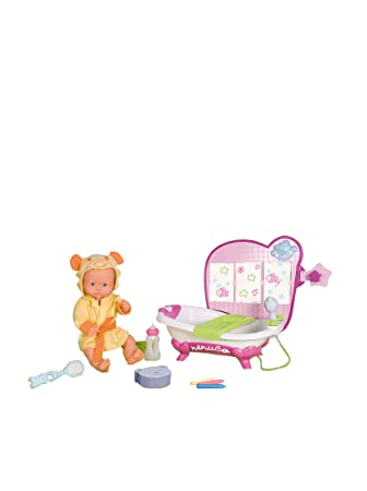 Amazon.es: Famosa Nenuco Baño Colores con Recién Nacido: Juguetes y ...
