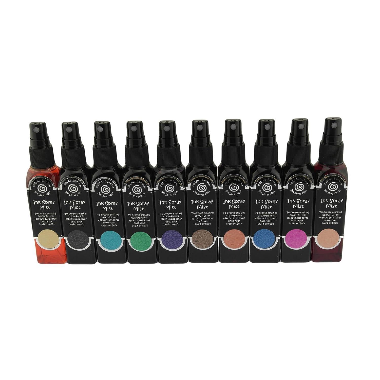 Cosmic Shimmer Ink Spray Mist Set - 10 x 50ml Bottles