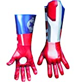 Marvel Disguise Iron Man 3 Iron Patriot Deluxe Adult Gloves Costume Accessory