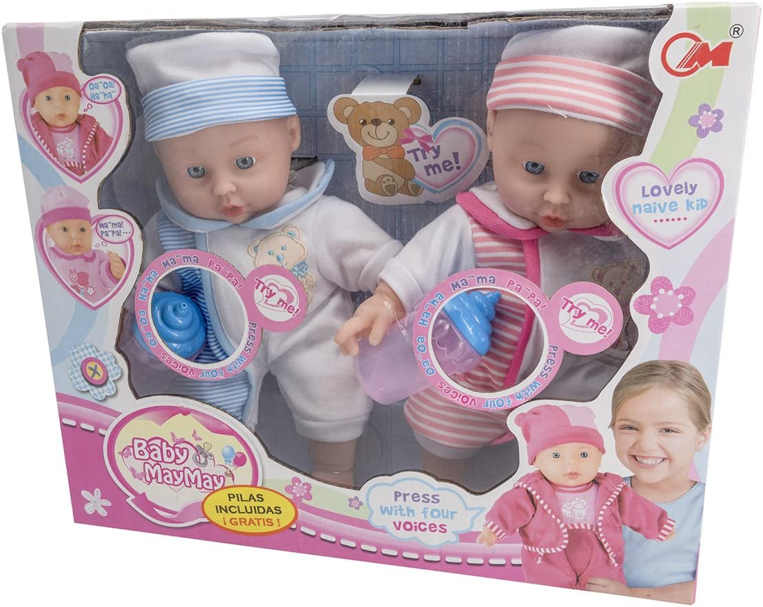 Toys Outlet - Baby May May 5406332785. Hermanos Gemelos. Modelo Aleatorio.
