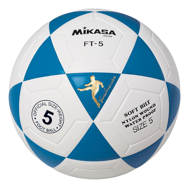 Mikasa Ft5 Goal Master Soccer Ball Black White Size 5 Net Bola Voli Volley Sports Outdoors